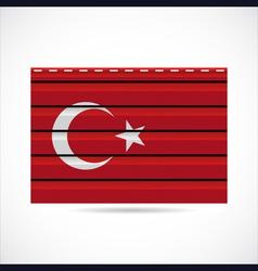 Turkey siding produce company icon vector image vector image