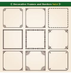 Frames And Borders Set 6 vector image