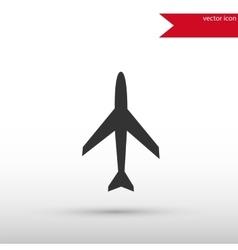 Airplane icon Flat design vector image