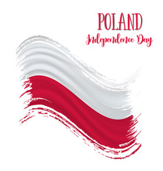 11 november poland independence day vector
