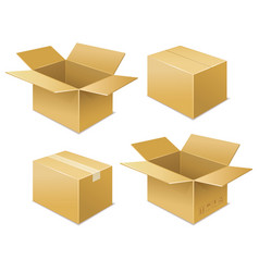 box free shipping icon vector image