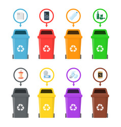 Garbage cans with sorted vector