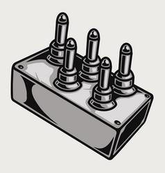Lowrider suspension remote control template vector
