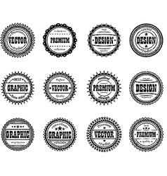 Set award icon for design studios vector image