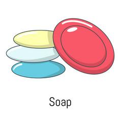 soap icon cartoon style vector image