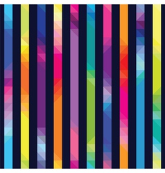 strips with color transition from triangles vector image