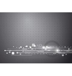 Technology background design vector image