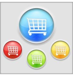 Shopping Cart Icon vector image vector image