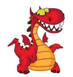 great dragon vector image