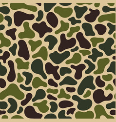 Camouflage fluid simple pattern geometric vector