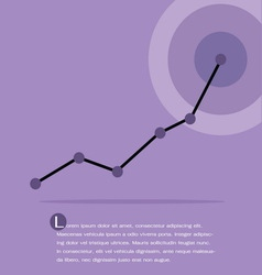 Chart and graph Infographics vector