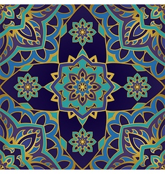 Eastern elegance ornament vector