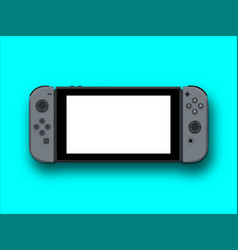 gaming device vector image