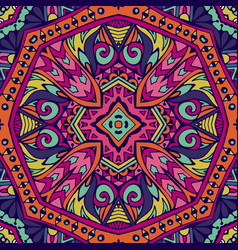 mandala background vintage decorative elements vector image