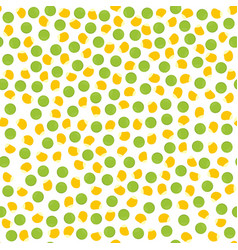 Pepper and corn seed pattern vector