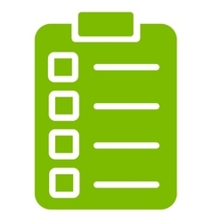 Test task icon from Business Bicolor Set vector