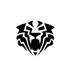 Tiger head logo vector