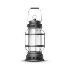 Vintage lantern vector