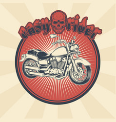 vintage of badge sticker vector image vector image