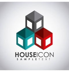 house icon design vector image vector image