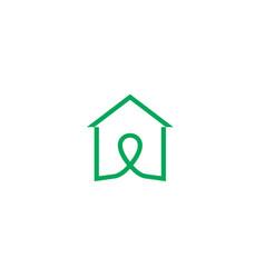 house line logologo icon design template vector image vector image
