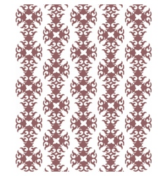 Vintage Abstract geometric floral pattern vector image vector image