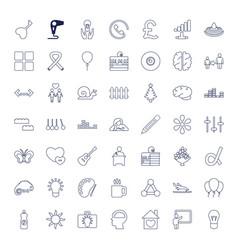 Creative icons vector