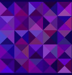 Dark purple abstract triangle mosaic pattern vector