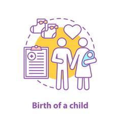 Family concept icon vector