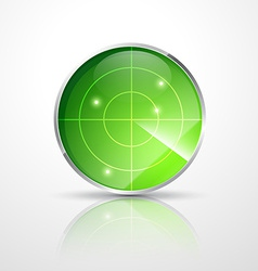 Green radar vector
