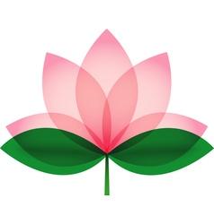 Lotus blossom vector