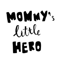 Mommy lettering vector