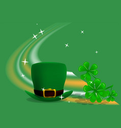St patricks day festive background vector