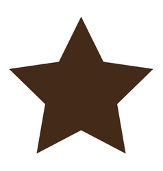 Star shape icon vector