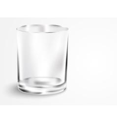 empty mug with handle vector image