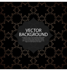 a modern invitation vector image