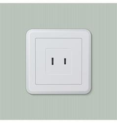 American electric socket 04 vector