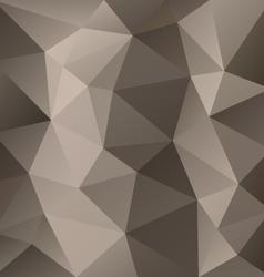 Brown gray triangular pattern background vector