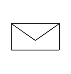 Envelope of icon vector