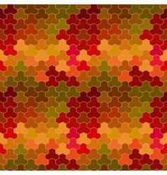 geometric pattern with geometric shapes vector image