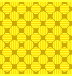 Geometrical circle pattern background - graphic vector