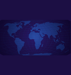 Map of the world background abstract new vector