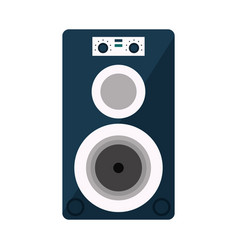 musical speaker audio stereo vector image vector image