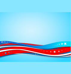 national american background vector image