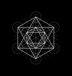 Sacred geometry with vector
