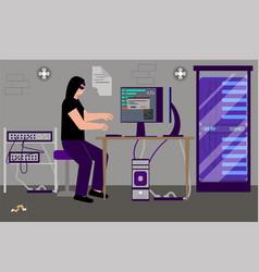 Server hacking flat composition vector