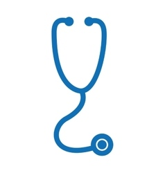 stethoscope isolated icon design vector image
