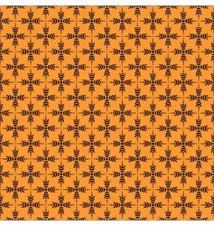 pattern with crosses vector image vector image