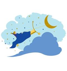 baby dreams vector image