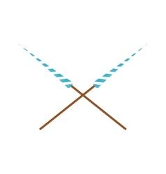 Lance vector image